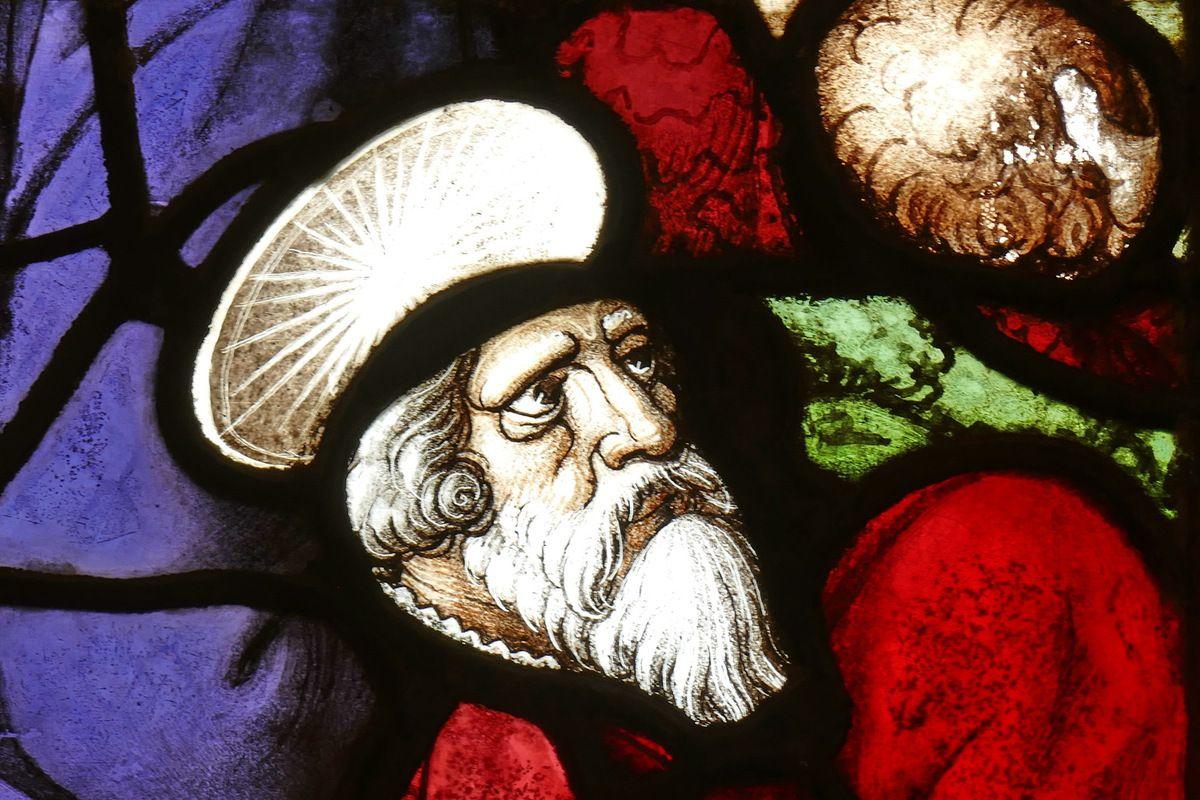 1539, maîtresse-vitre de l'église Saint-Yves de La Roche-Maurice. Photographie lavieb-aile septembre 2017.