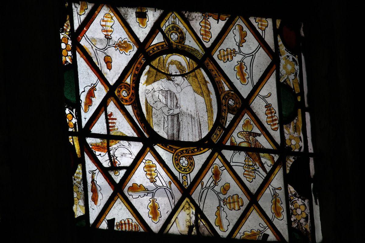 La baie 19 (1360-1370) de la chapelle du Rosaire, cathédrale d'Évreux. Photographie lavieb-aile mai 2014.