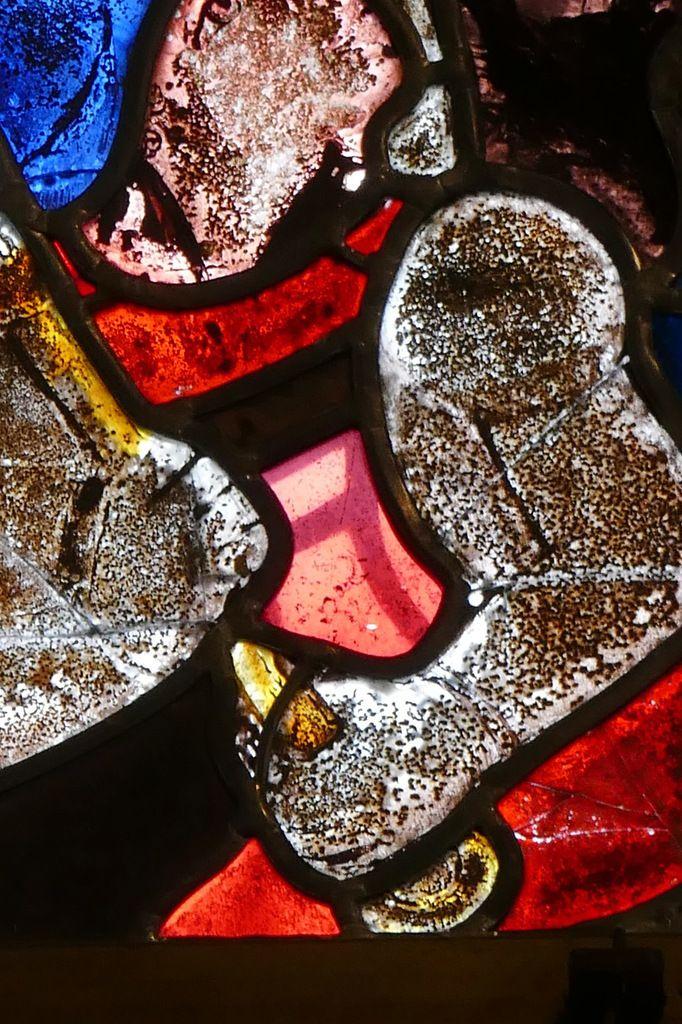 Maîtresse-vitre de l'église de Locronan. Photographie lavieb-aile novembre 2017.