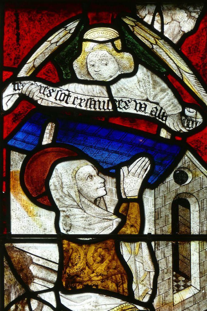 Maîtresse-vitre (1460-1470) de la chapelle Notre-Dame-de-la-Cour à Lantic. Photographie lavieb-aile septembre 2017.