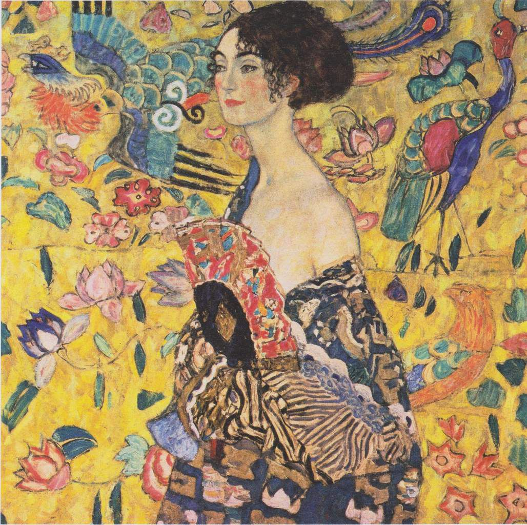 https://upload.wikimedia.org/wikipedia/commons/a/a4/Gustav_Klimt_-_Dame_mit_F%C3%A4cher.jpeg