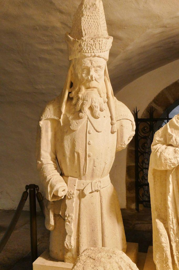 La Mise au tombeau de l'abbatiale Sainte-Croix de Quimperlé