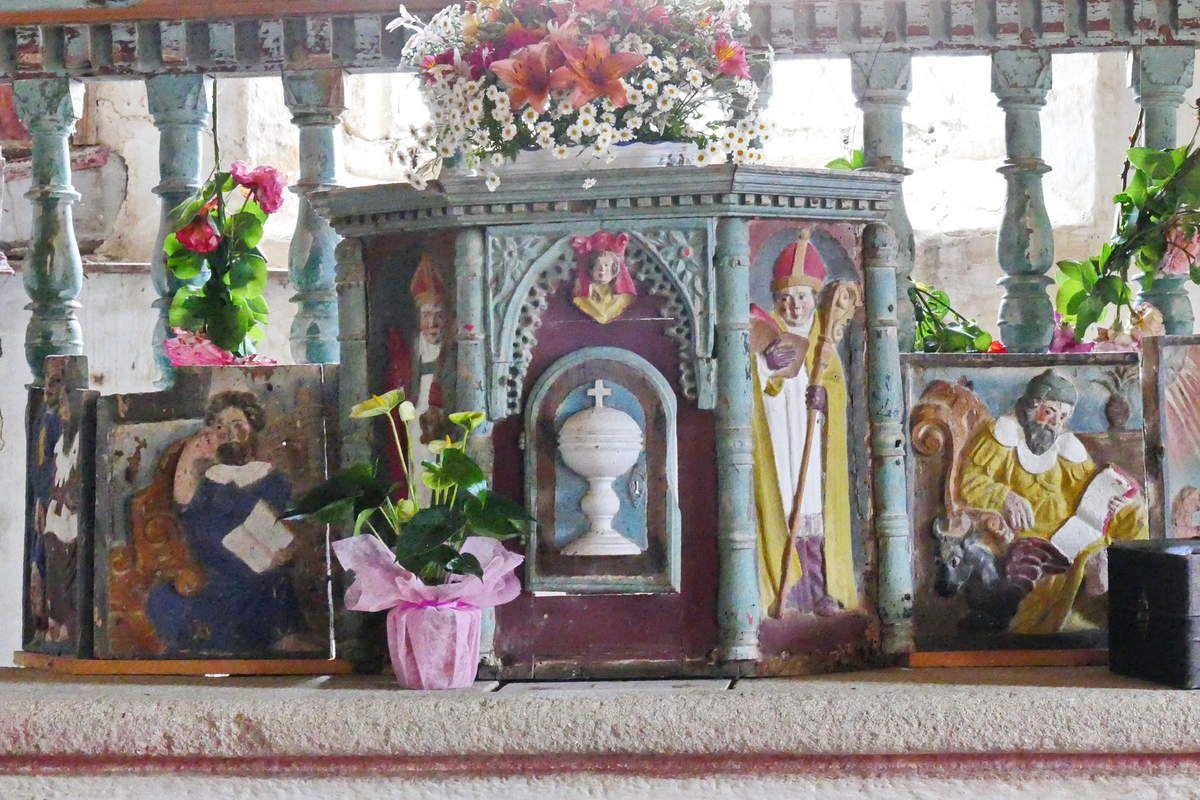 La chapelle Saint-Jean à Saint-Nic. Photographie lavieb-aile 23 juin 2018.