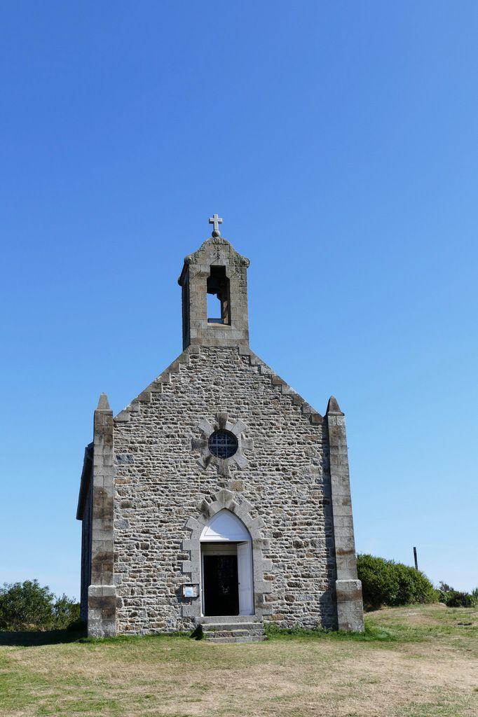 Chapelle Notre-Dame, Grande-Île, Chausey. Photographie lavieb-aile septembre 2018.