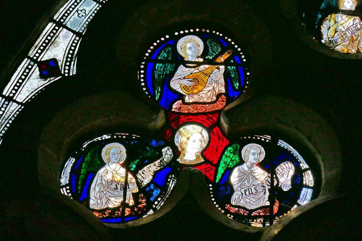 Baie 8,cathédrale de Dol-de-Bretagne. Photographie lavieb-aile septembre 2018.