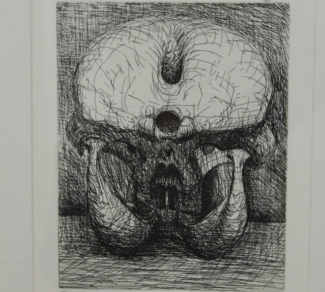 Exposition Henry Moore, Fonds Hélène et Édouard Leclerc 2018, Landerneau. Photographie lavieb-aile 9 octobre 2018.