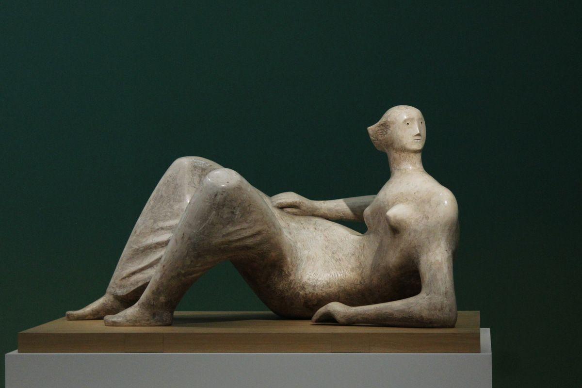 Exposition Henry Moore, Fonds Hélène et Édouard Leclerc, Landerneau. Photographie lavieb-aile 9 octobre 2018.