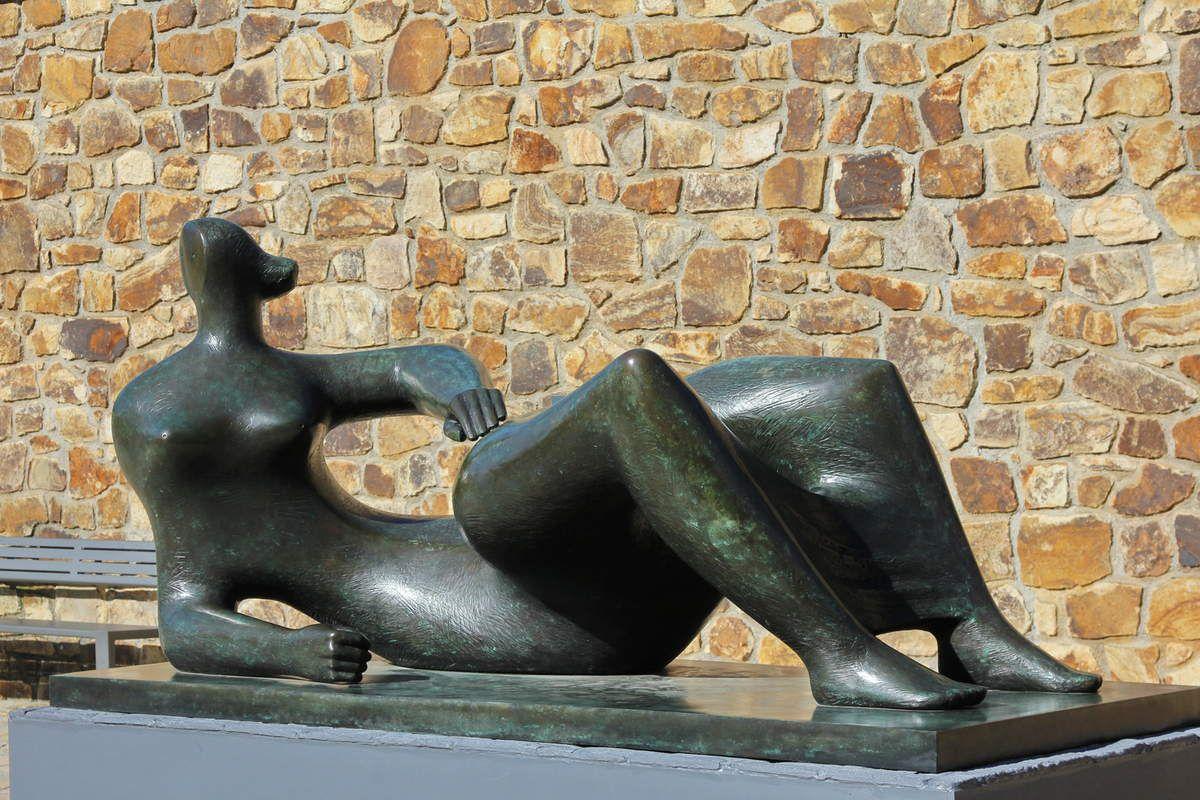 Henry Moore à Landerneau, et l'ostéologie.