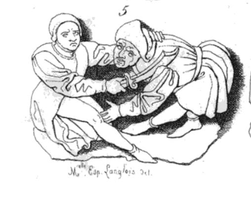 LANGLOIS (Eugène-Hyacinthe), 1838, Stalles de la cathédrale de Rouen, ornée de treize planches gravées,