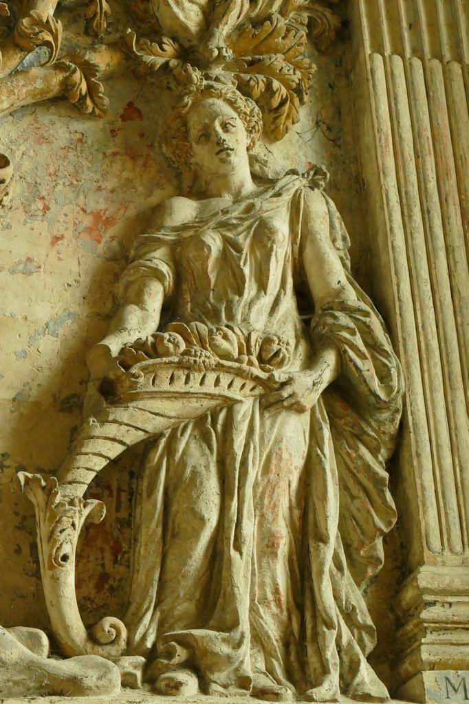 L'Arbre de Jessé aux Sibylles, 1593, P. Le Fresnoy. église de Gisors. Photographie lavieb-aile 26 août 2018.
