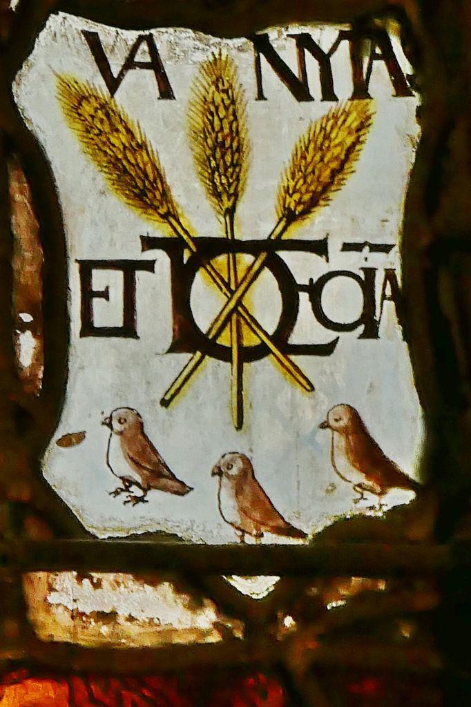 La verrière de la Vie de saint Jean-Baptiste de Pont-Audemer.