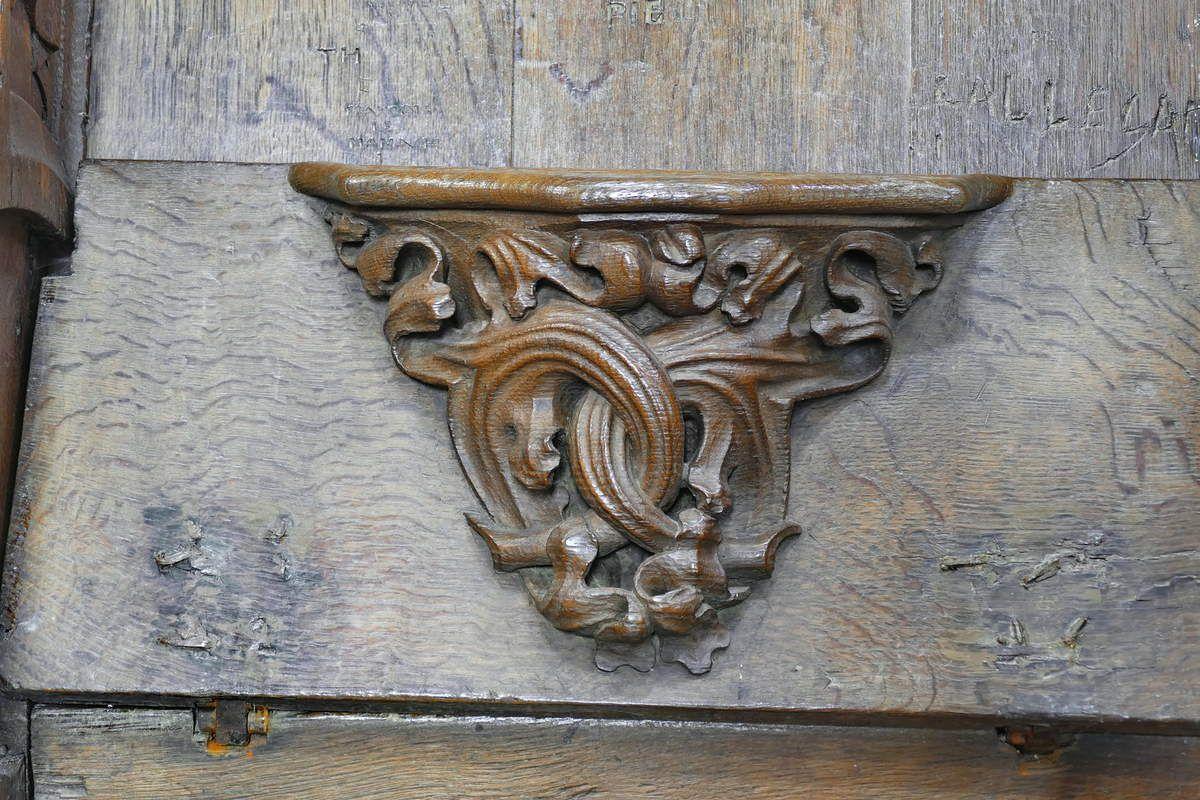 Stalles de la cathédrale de Tréguier. Photographie lavieb-aile 1er mars 2019.