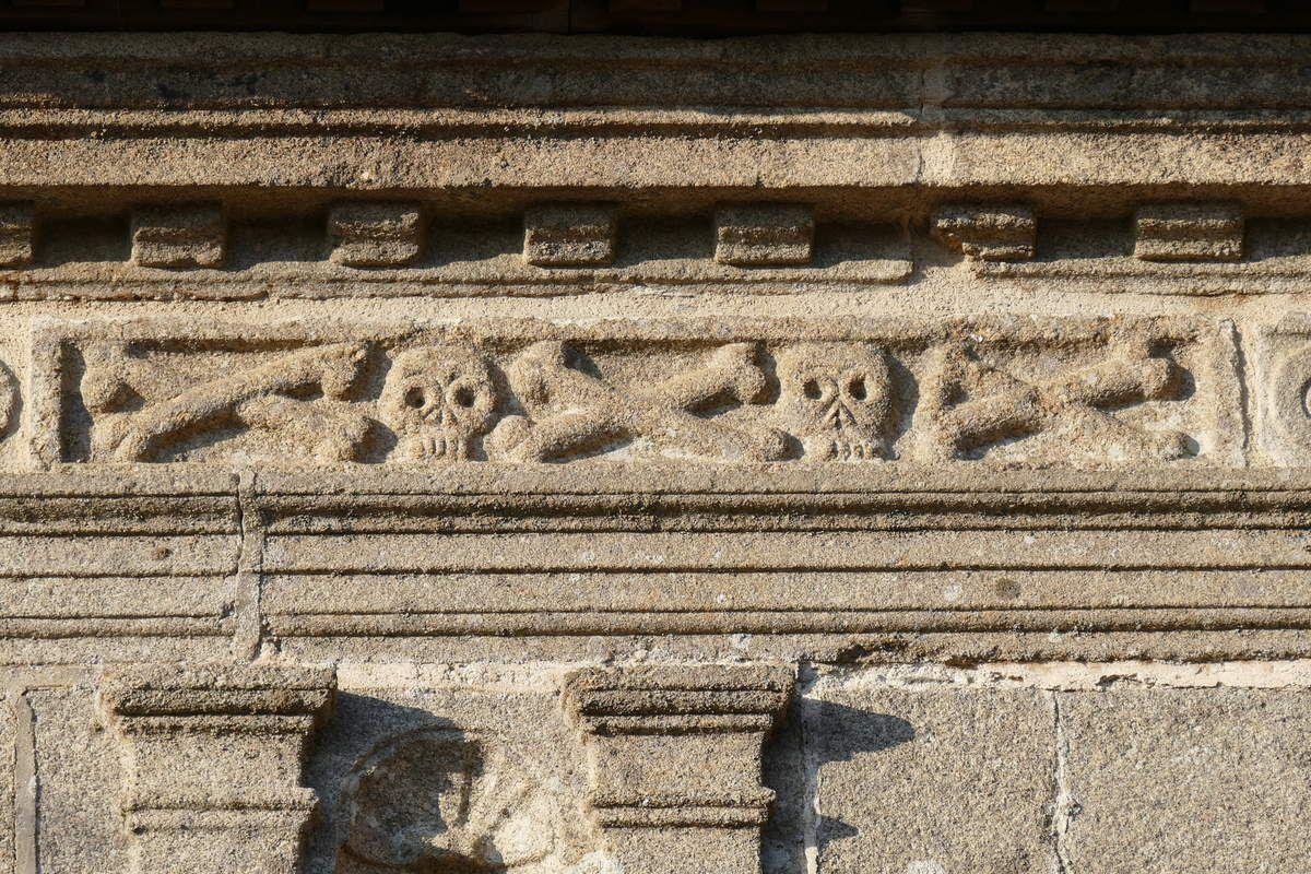 Les inscriptions lapidaires de l'enclos de Lampaul-Guimiliau.