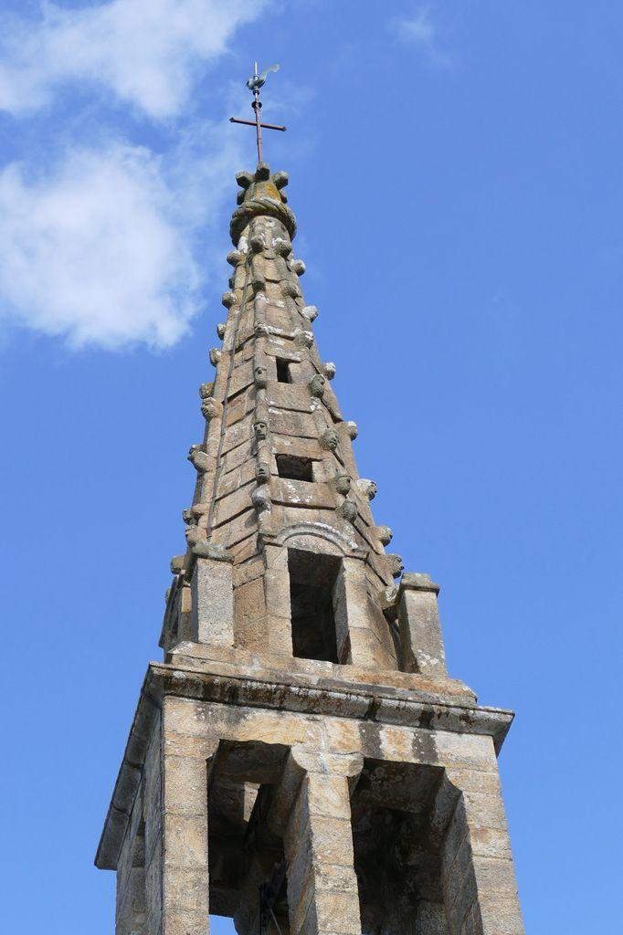 Clocher de l'église de Landévennec. Photographie lavieb-aile mai 2019.