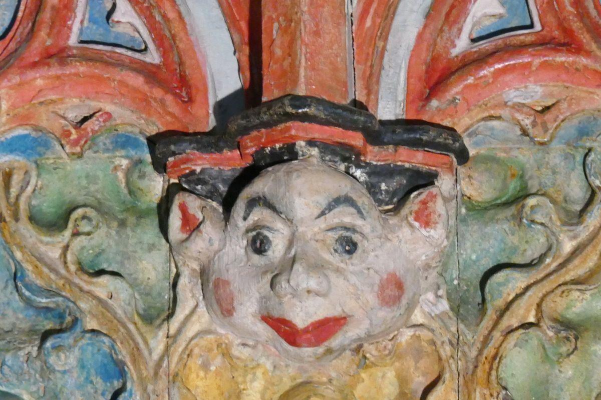 Tribune d'orgue de l'église de Goulven. Photographie lavieb-aile 18 mai 2019.