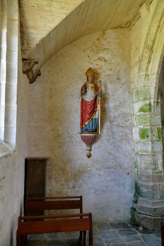 Chapelle Saint-Sébastien en Saint-Ségal. Photographie lavieb-aile 2019.
