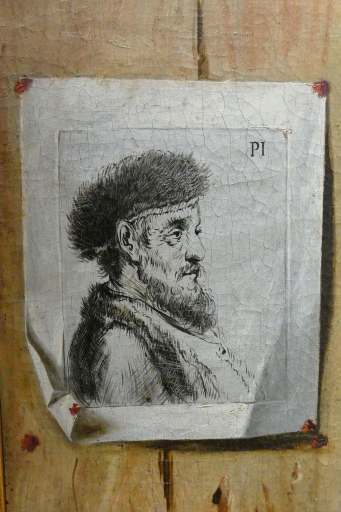 Jean-François De Le Motte, Vanité et trompe-l'œil, Musée des Beaux-Arts de Dijon. Photographie lavieb-aile août 2019.
