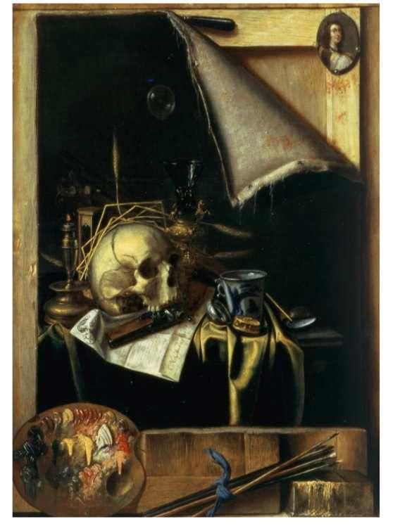 Le trompe-l'œil de Jean-François de Le Motte au Musée des Beaux-arts de Dijon.