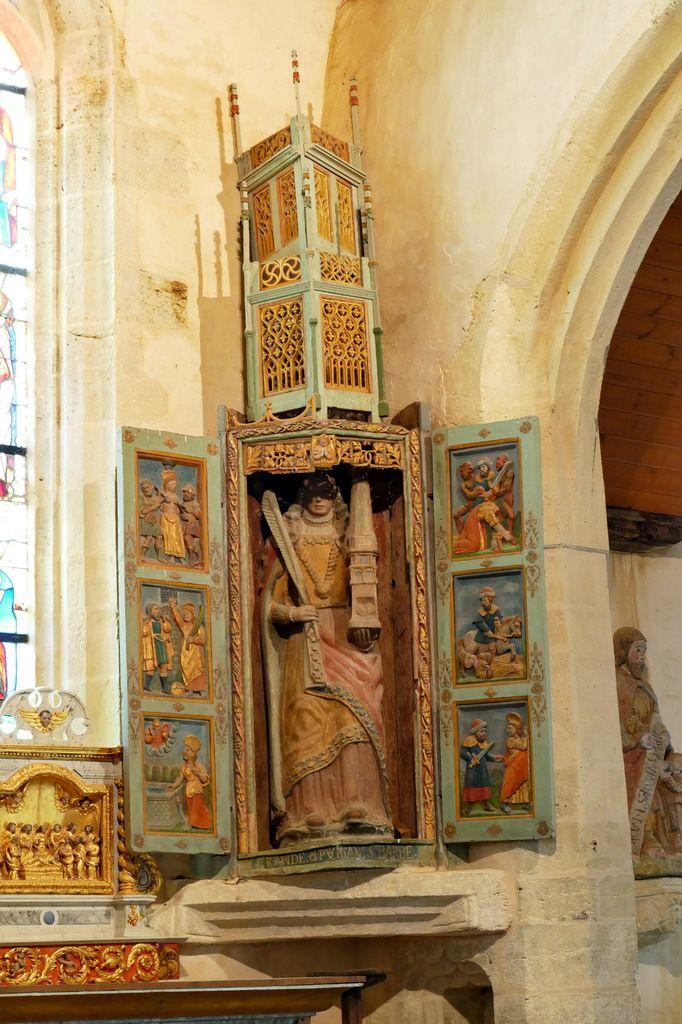 Chapelle de Lannélec à Pleyben. Photographies lavieb-aile.