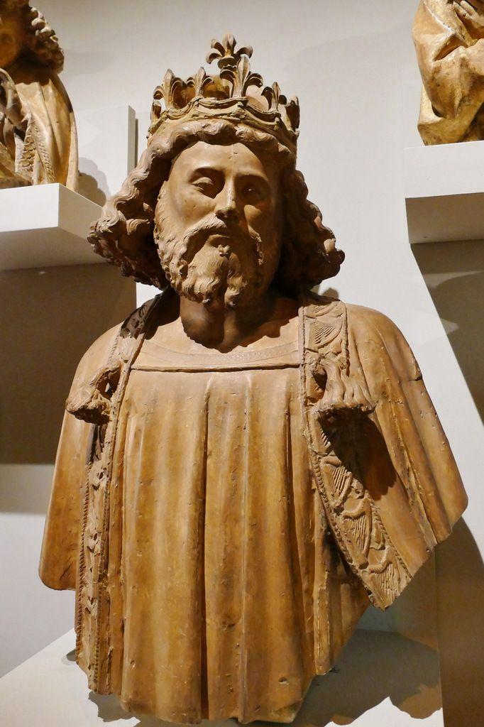 I. Le roi David. Moulage exposé au Musée des Beaux-Arts de Dijon.   Photographie lavieb-aile août 2019.