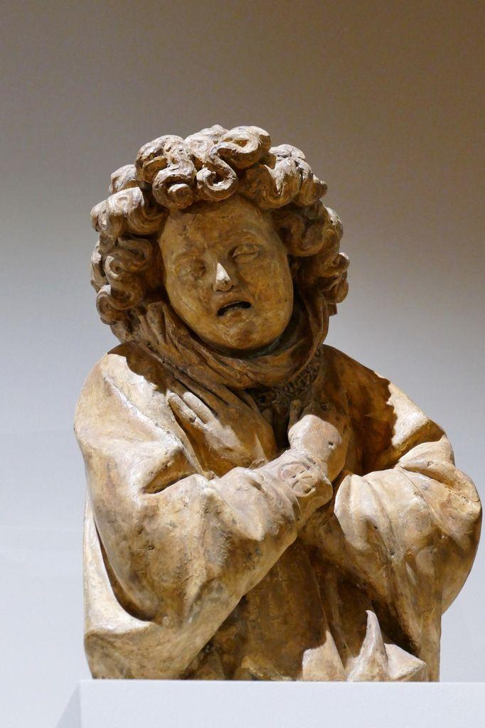 Ange Ia. Moulage exposé au Musée des Beaux-Arts de Dijon.   Photographie lavieb-aile août 2019.