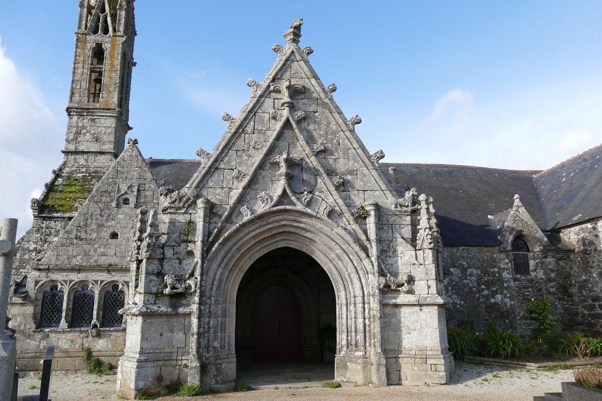 Église Saint-Nicaise de Saint-Nic. Photographie lavieb-aile.