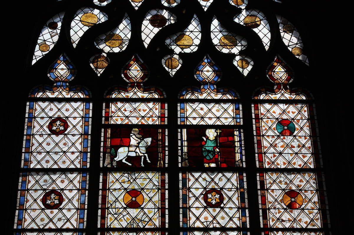 Baie 26 de la cathédrale d'Évreux. Photographie lavieb-aile.