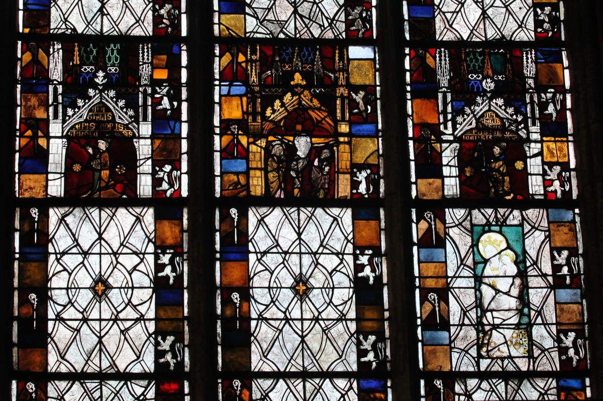 Baie 27 de la cathédrale d'Évreux. Photographie lavieb-aile.