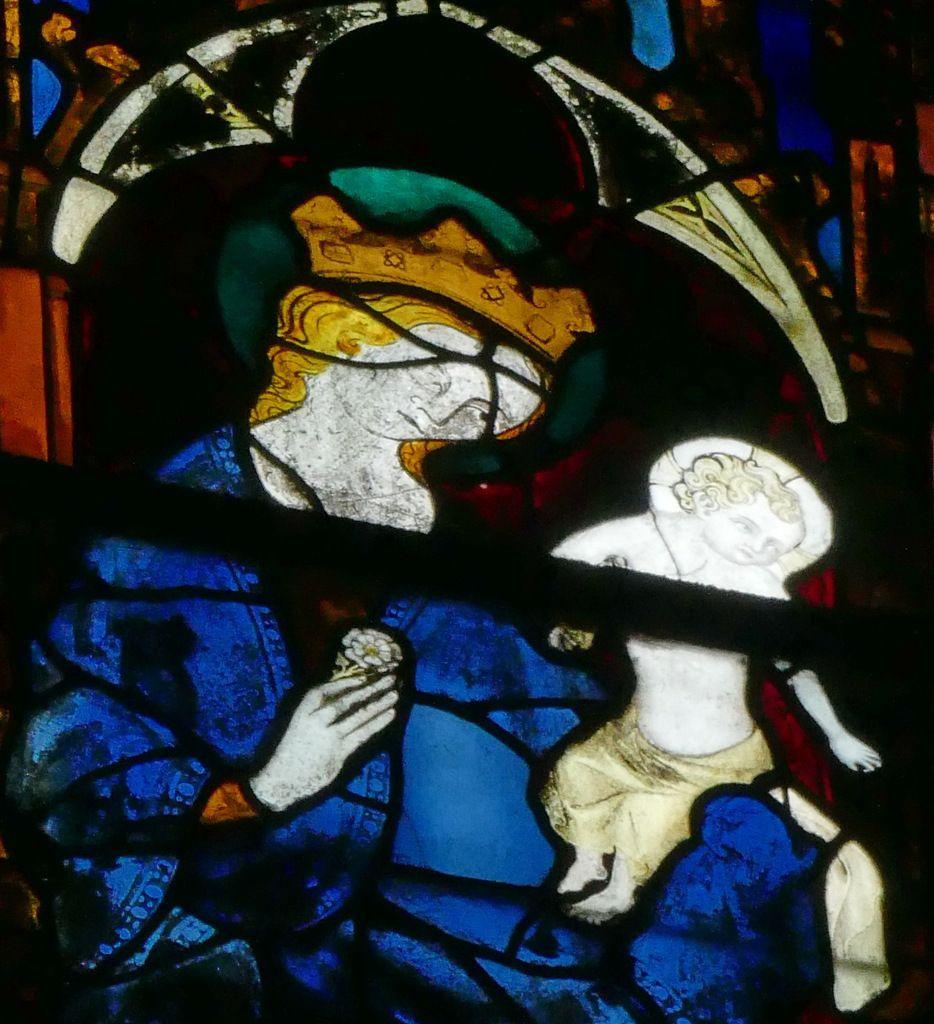 Baie 211 du chœur de la cathédrale d'Évreux. Photographie lavieb-aile.