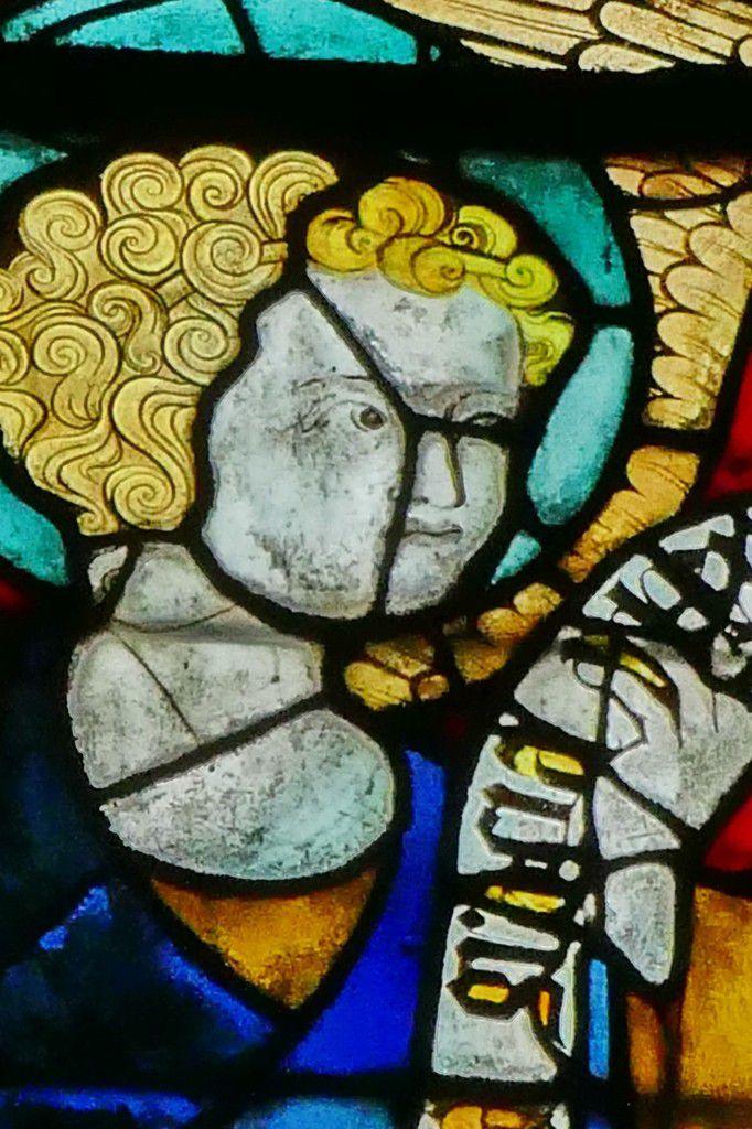 Baie 201 du chœur de la cathédrale d'Évreux. Photographie lavieb-aile.