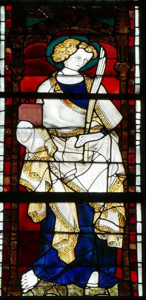 Baie 204 (vers 1335) du chœur de la cathédrale d'Évreux. Photographie lavieb-aile.
