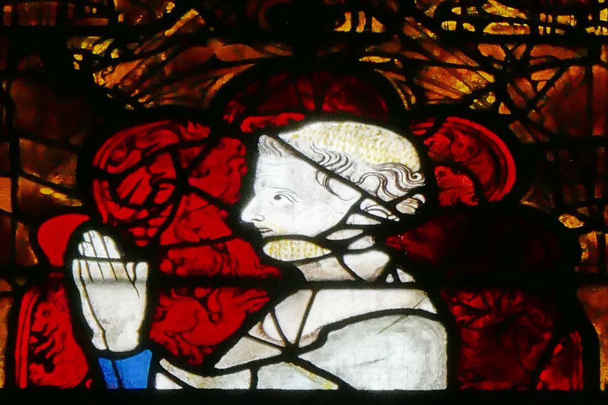 La baie 206 du chœur de la cathédrale d'Évreux. Photographie lavieb-aile.