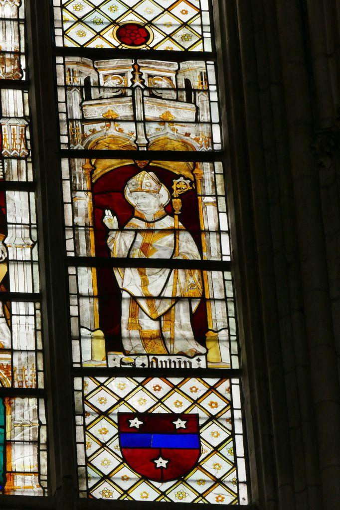 Baie 214 du chœur de la cathédrale d'Évreux. Photographie lavieb-aile.