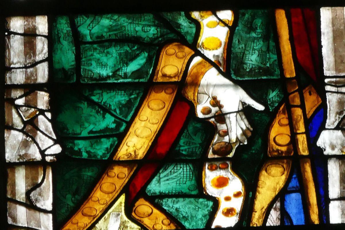 Baie 205 de la cathédrale d'Évreux. Photographie lavieb-aile.