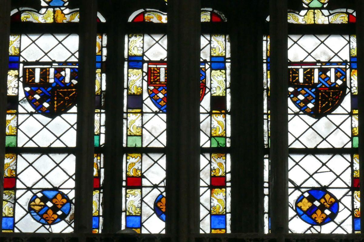 Baie 109 du chœur de la cathédrale d'Évreux. Photographie lavieb-aile.