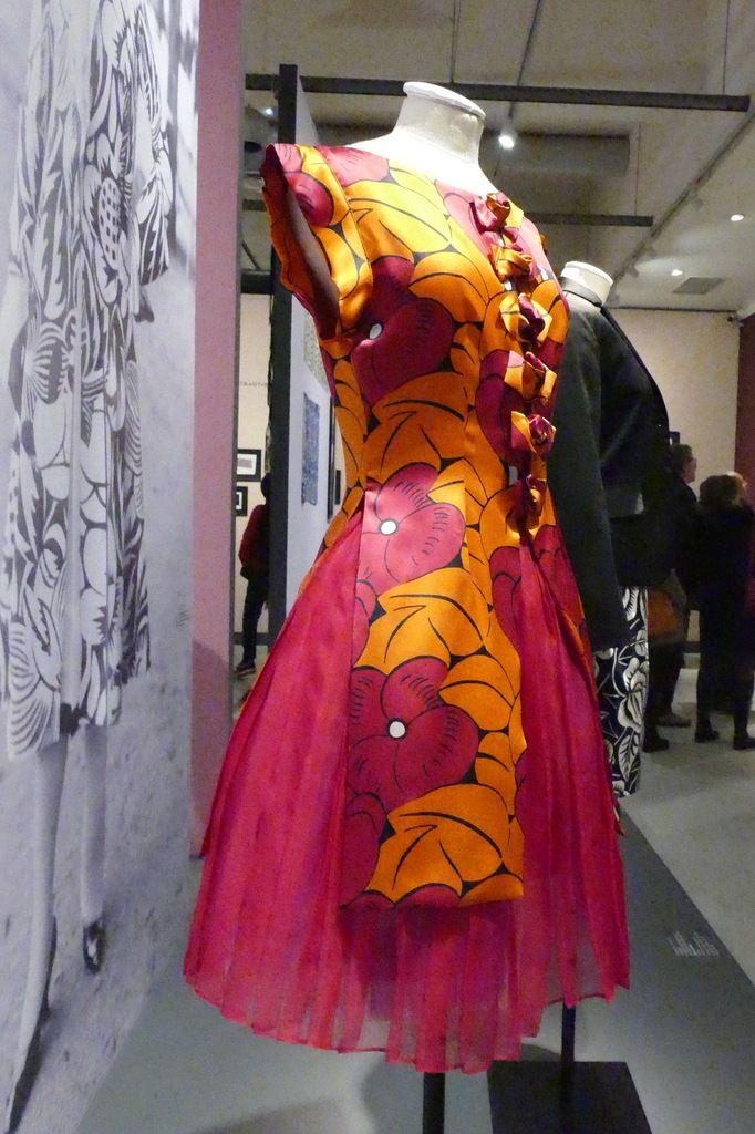 Raoul Dufy, la mode des années folles , exposition du Musée des beaux-arts de Quimper (copyright). Photo lavieb-aile 2019.