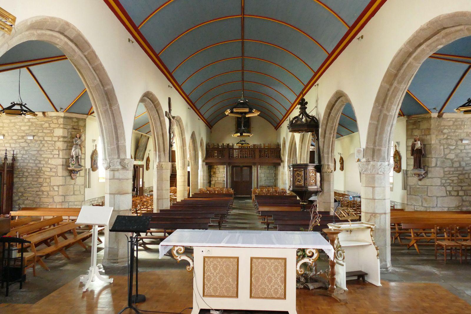 Église Saint-Collodan de Plogoff. Photographie lavieb-aile mars 2020.
