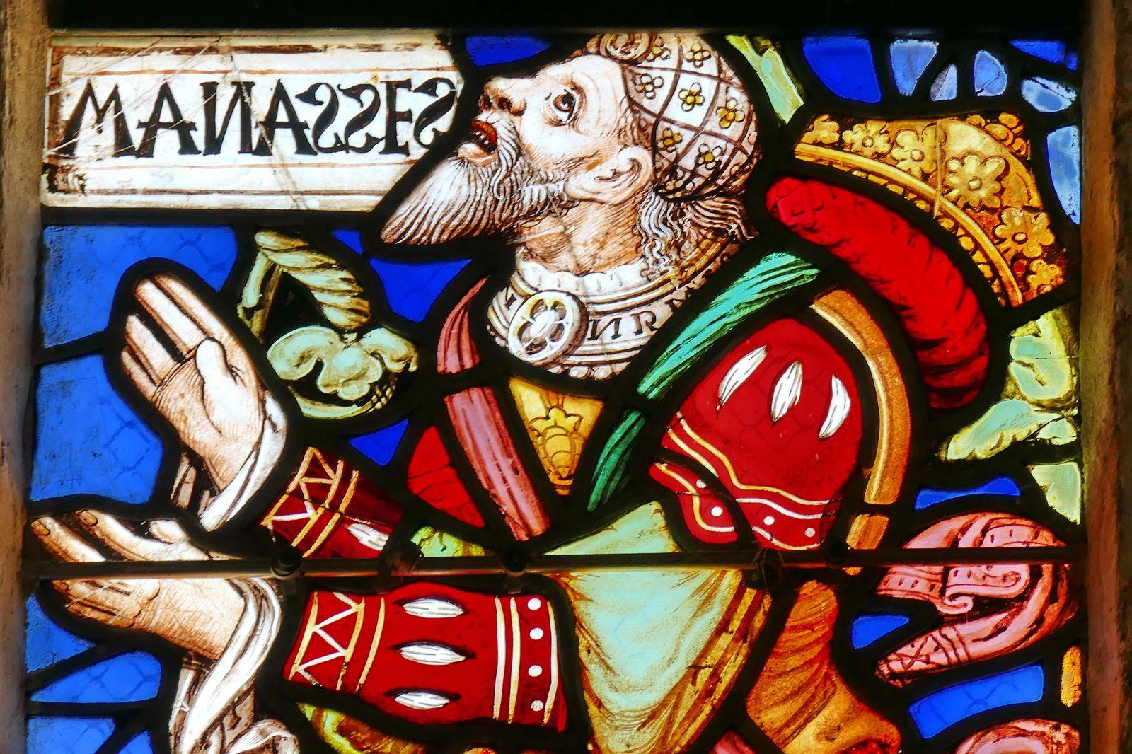Maîtresse-vitre (1530) de Notre-Dame de Confort. Photographie lavieb-aile 2020.