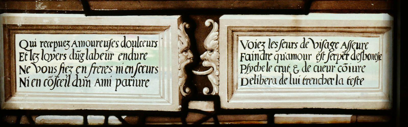 Galerie de Psyché du château de Chantilly. Photographie lavieb-aile.