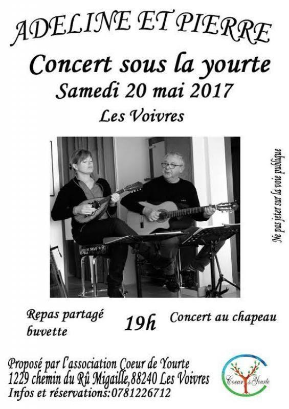 Concert sous la yourte !