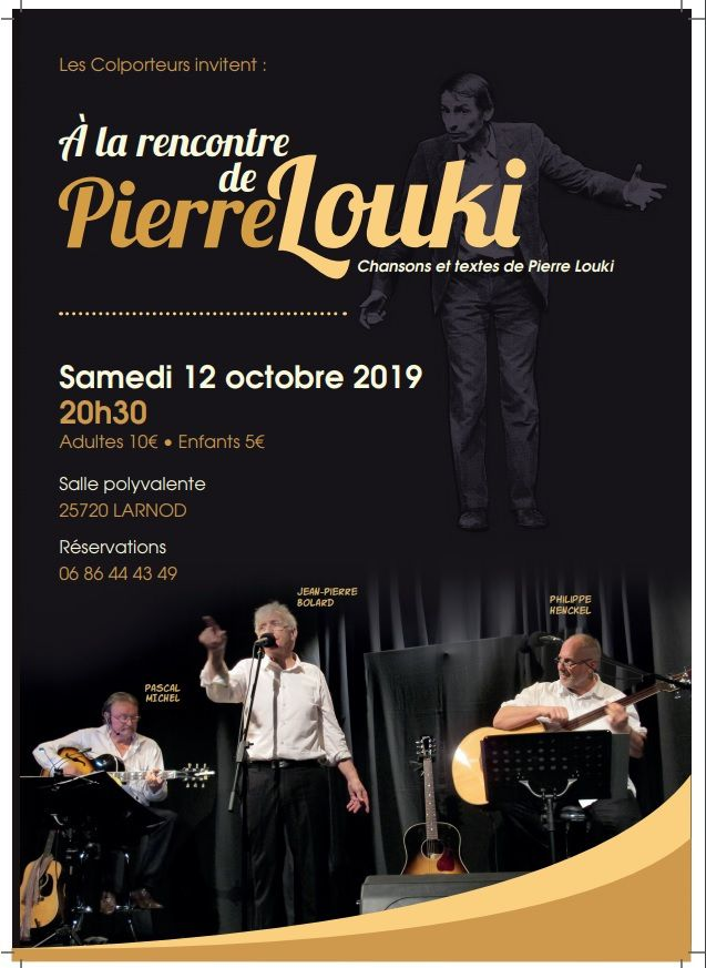 Pierre Louki à Larnod