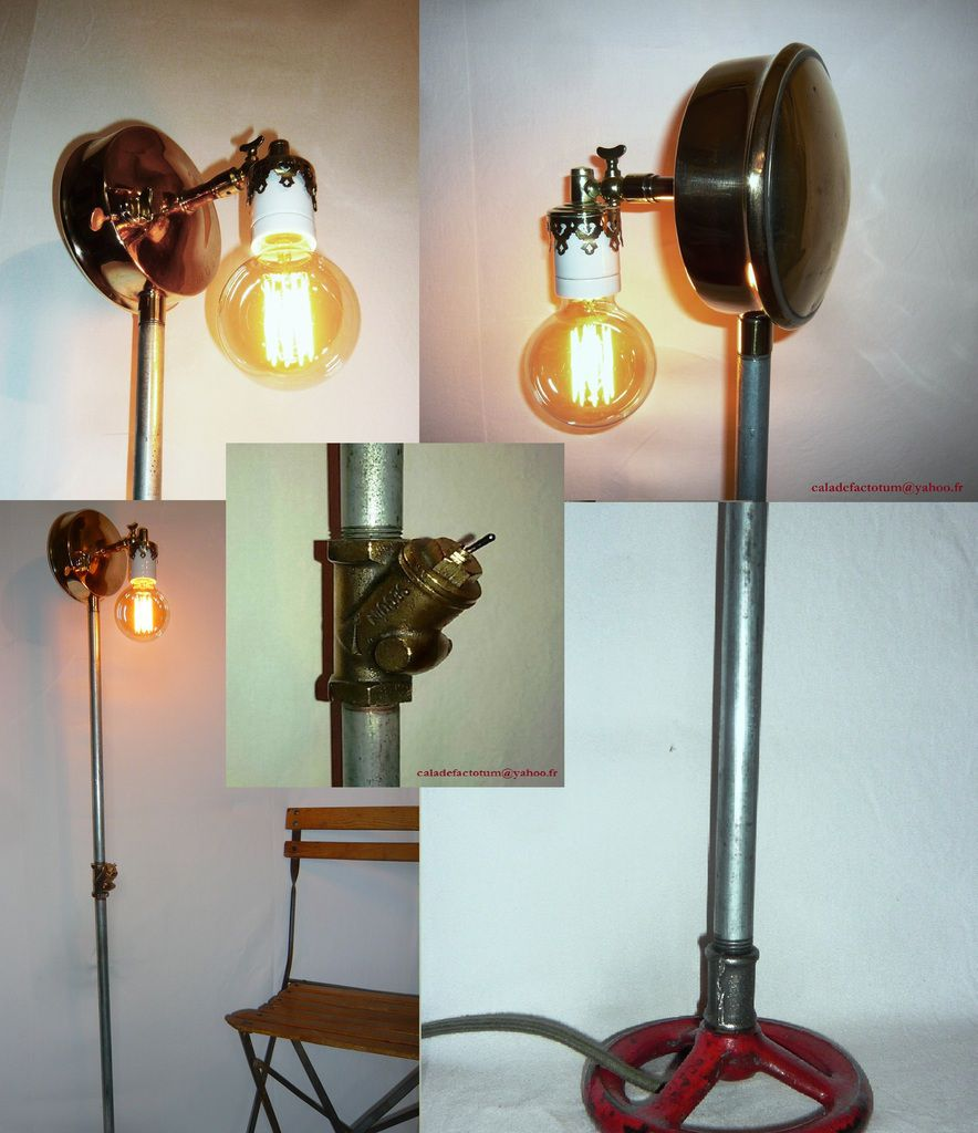 """ PRIMUS SOVIETIQUE "" - lampadaire made in USSR - 255 euros"