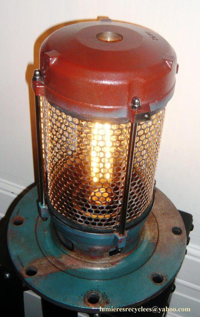 Lampe lanterne de pompe industrielle - 175 euros