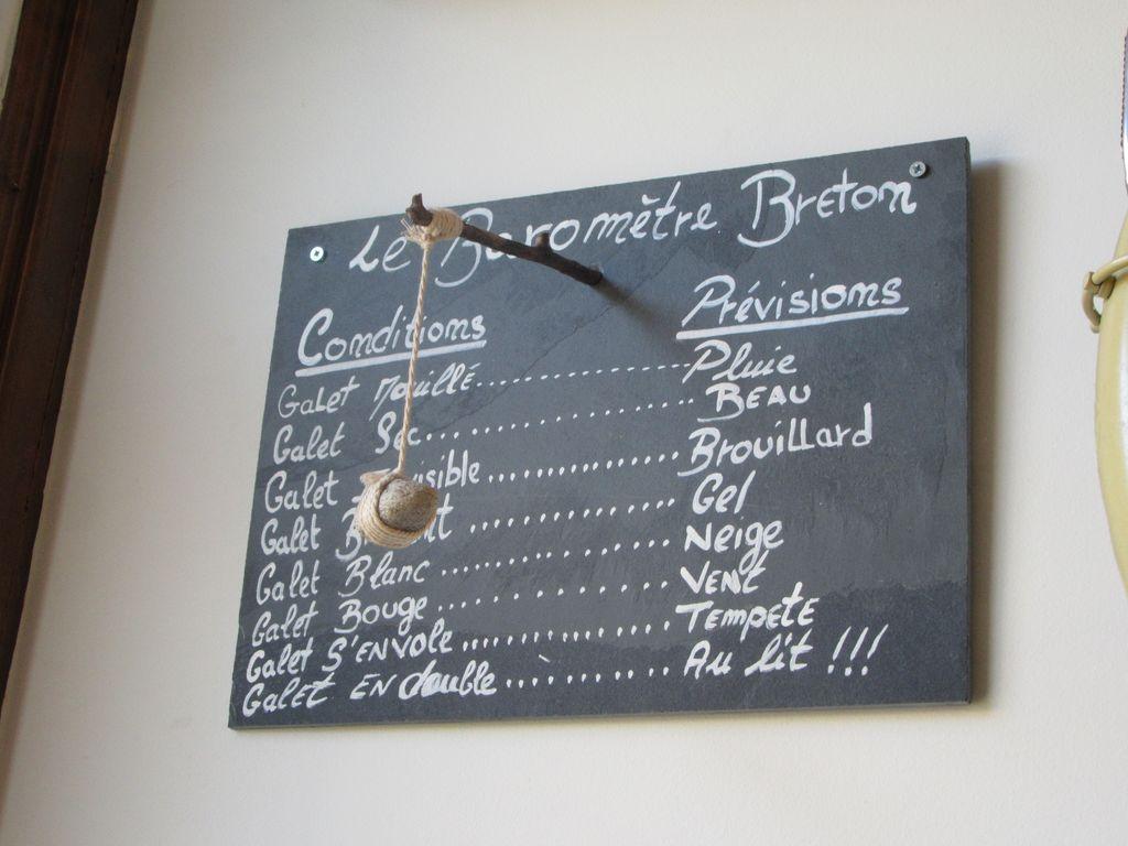 """La météo à l'aide du """"galet breton"""""""