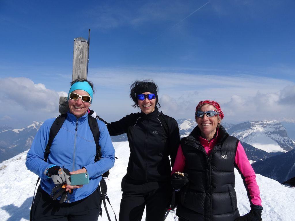 En ski de fond ou ski de randonnée, dès que la neige est là on y retourne ...