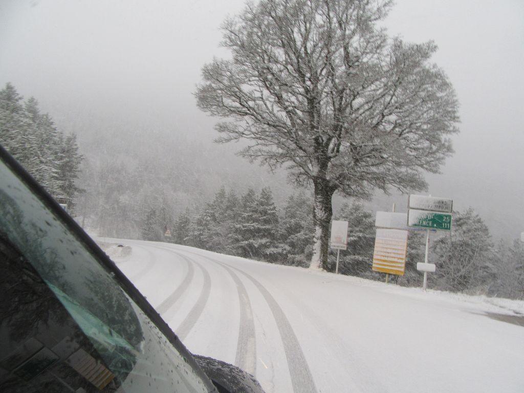 Les neiges de l'Izoard