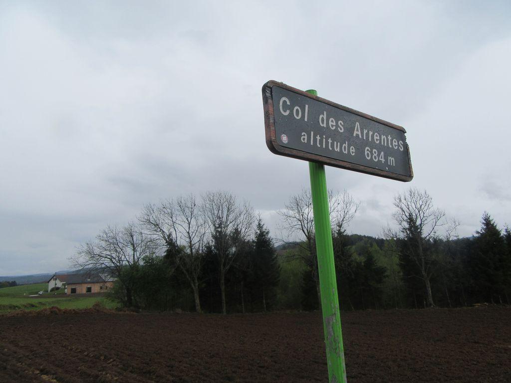 """Un bout de chemin avec Aurélien . A Taintrux, photo """"de contrôle"""""""