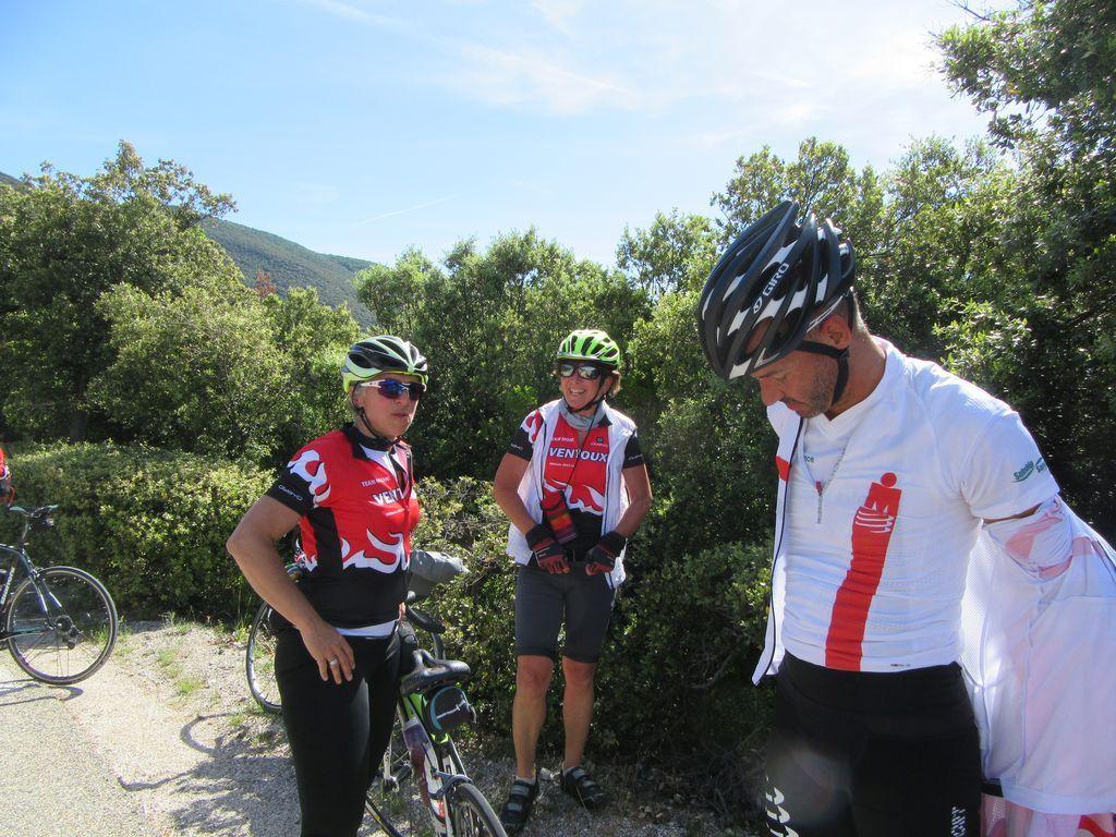 Sortie Team Mont Ventoux ... au Ventoux !