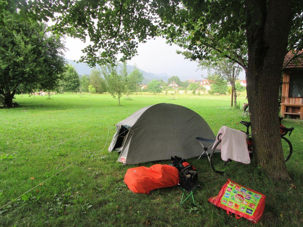 """Slovénie J6 : premier passage """"gravel"""", premières gouttes de pluie  ..."""