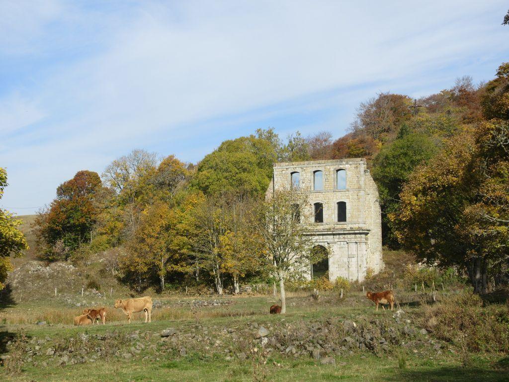 Le site de l'ancienne Chartreuse de Bonnefoy